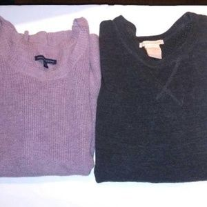 AEO & SWEET ROMEO SWEATERS - Two For One Special